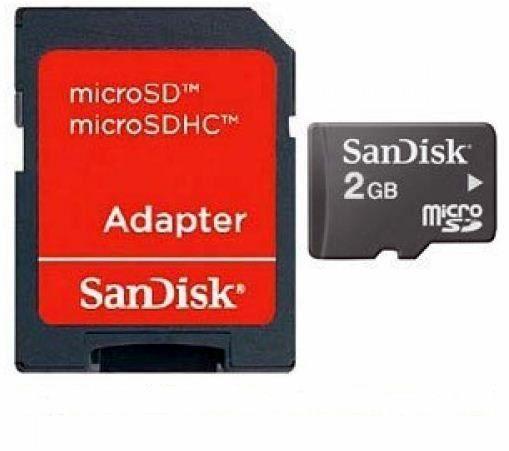 Cartão SD Sandisk 2GB