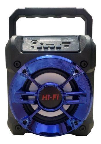 Caixa de som Grasep Bluetooth Hi-Fi Mp3 Rádio USB D-S3