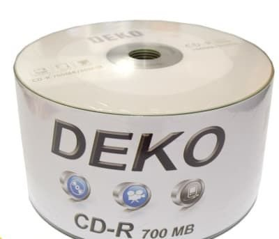 CD-R Deko 700MB logo