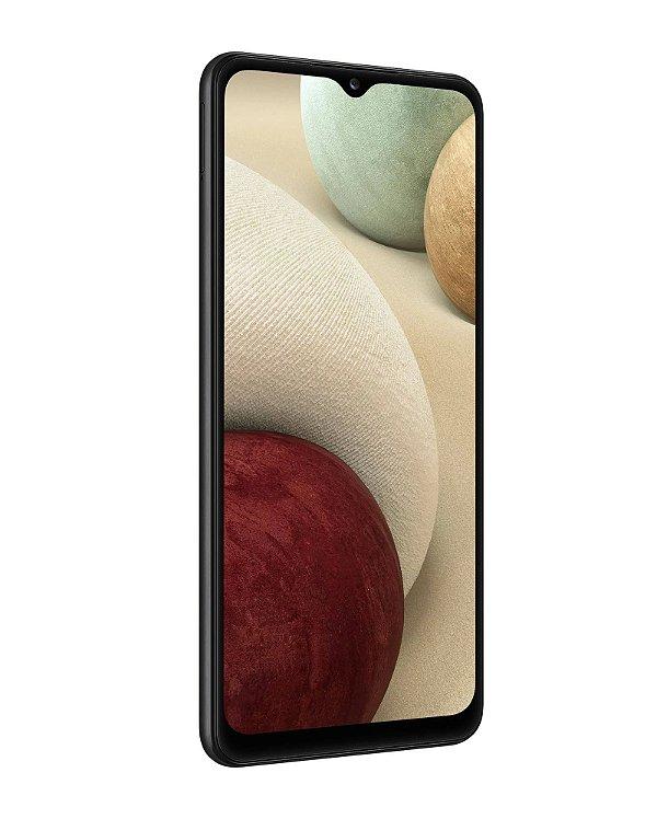 Smartphone Samsung Galaxy A12 Preto 64GB