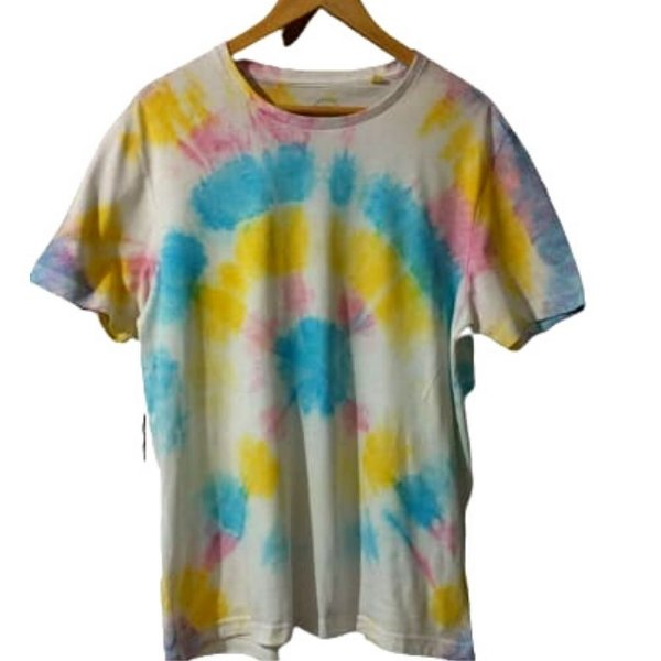 Camiseta Masculina Tie Dye