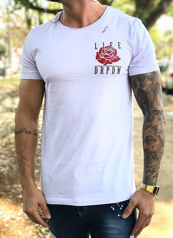 T-Shirt Rosas Dialeto - Deep Roots