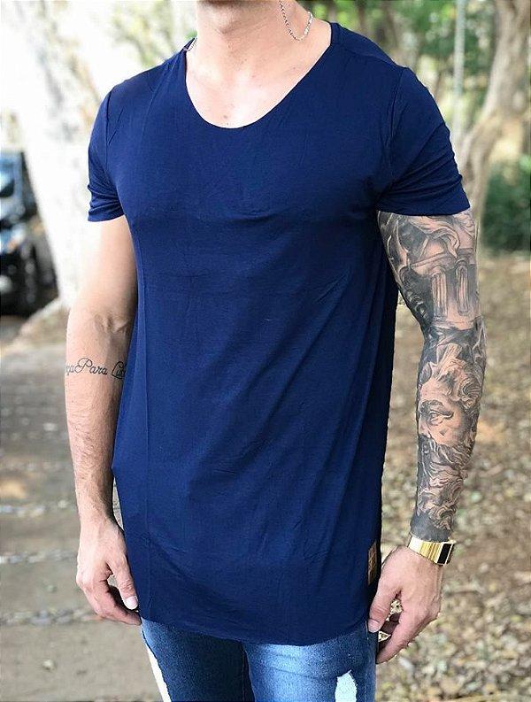 Camiseta Longline Blue Basic - Booq for Men