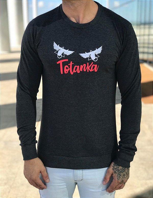 Moletom TTK Wings Grey - Totanka