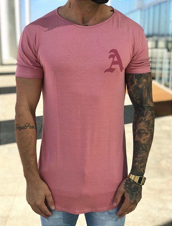 Camiseta Longline Rose - Alltribe