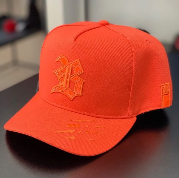 Boné Snapback Tiger New Orange - BLCK