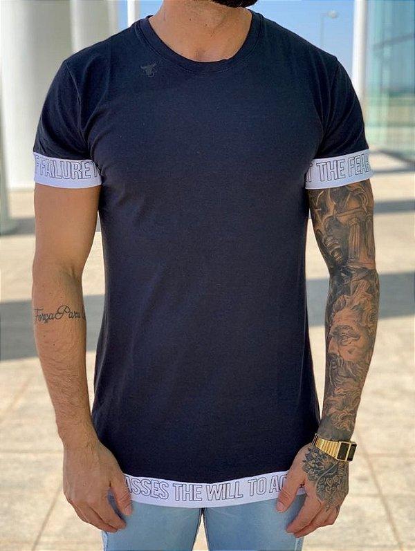 Camiseta Longline Fear - Totanka
