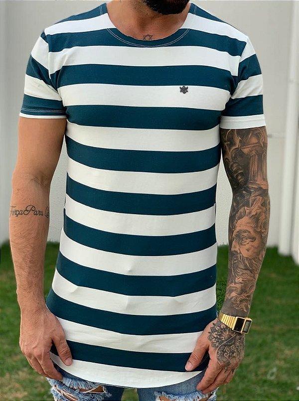 Camiseta Longline Navy - Totanka