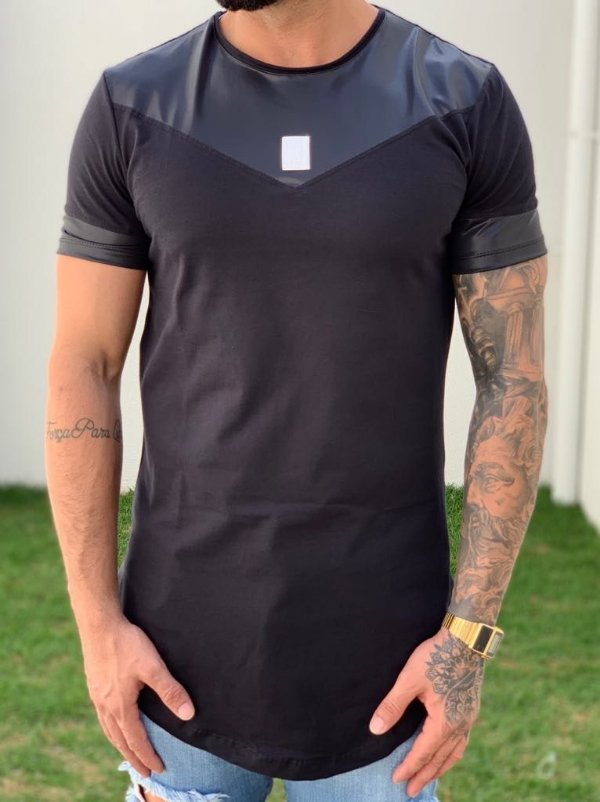 Camiseta Longline Recorte Cirre - King Joy