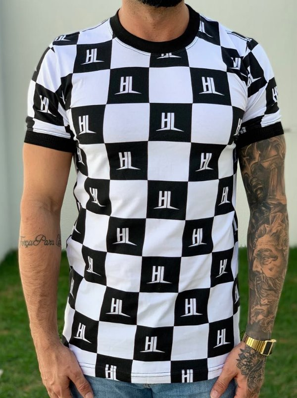 T-shirt Checkered - Hundred Limit