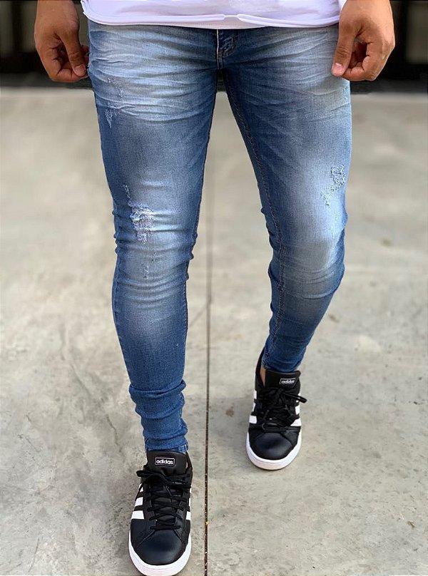 Calça Jeans Skinny Sandover - Zip Off