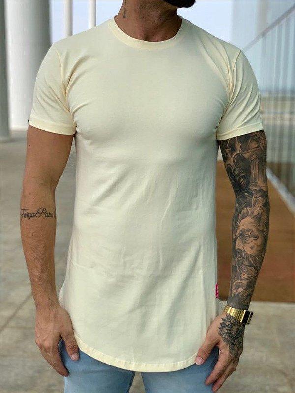 Camiseta Longline Cream Some Memories - Totanka
