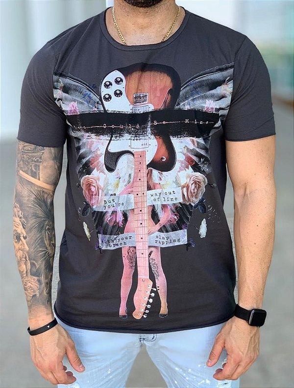 T-shirt You Gould Be Mine Grey- Derekho