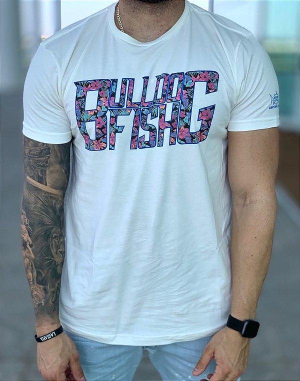 T-shirt Creme Bulldog Colors - Bulldog Fish