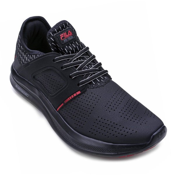 Tenis Fila Fit Tech Black/Red - Fila