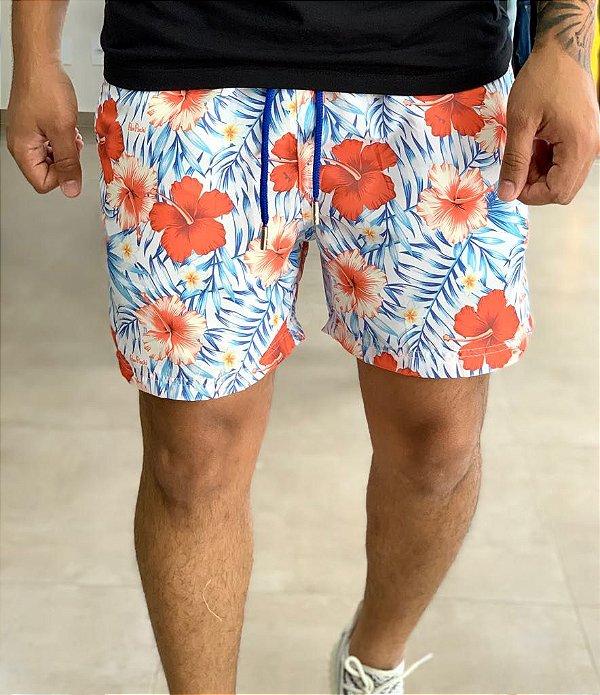 Shorts Beach Hibiscus Light - Perpochi