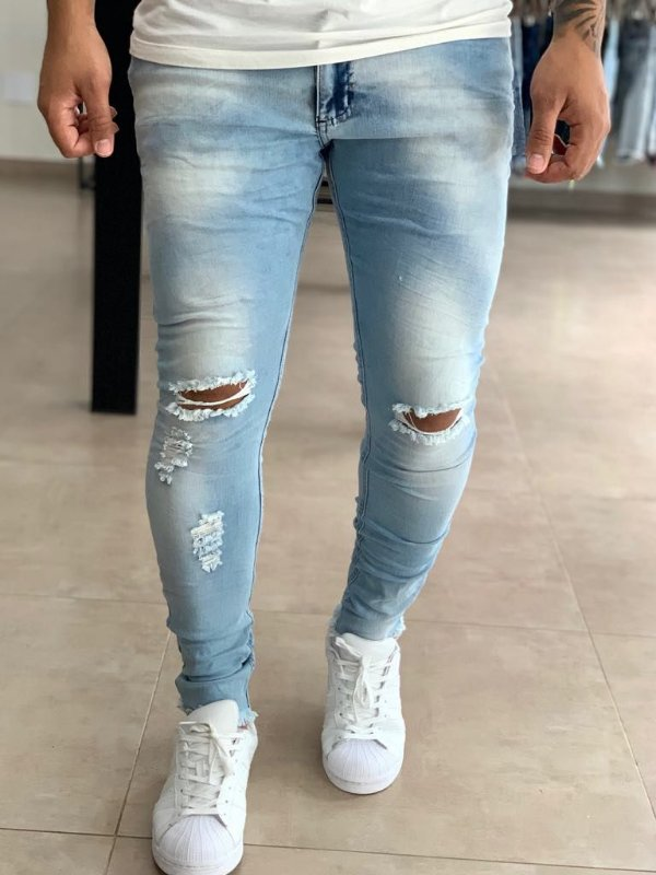 Calça Jeans Destroyed Likasi - City Denim
