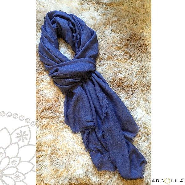 Echarpe de Viscose / Azul