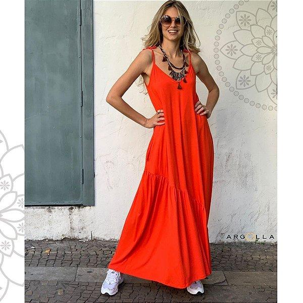 Vestido IBIZA - Laranja
