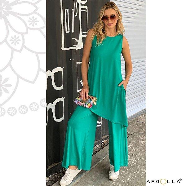 Conjunto Pantalona Laguna - Verde