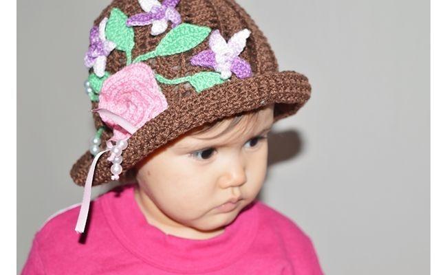 Chapéu de menina