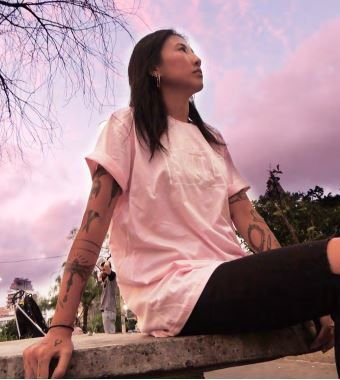 Camiseta Skategirl Melancia
