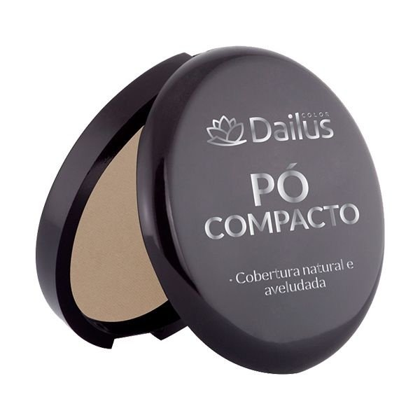 Pó Compacto Dailus Nº. 04 - Bege