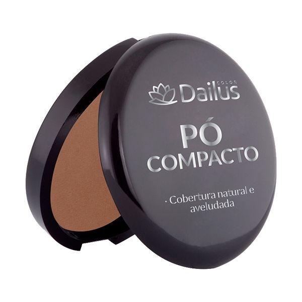Pó Compacto Dailus Nº. 10 - Chocolate