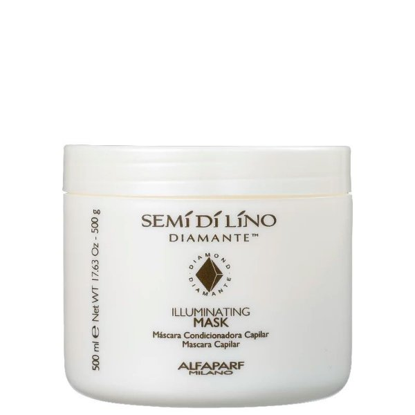 Máscara Alfaparf Semi Di Lino Diamante Illuminating - 500g