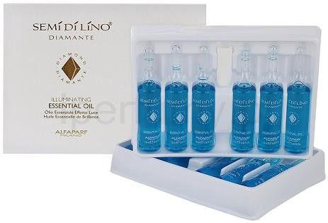 Caixa de Ampolas Alfaparf Semi Di Lino Essential Oil - 12 un