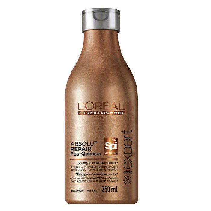 L'Oréal Absolut Repair Pós Química - Shampoo Reconstrutor 250ml