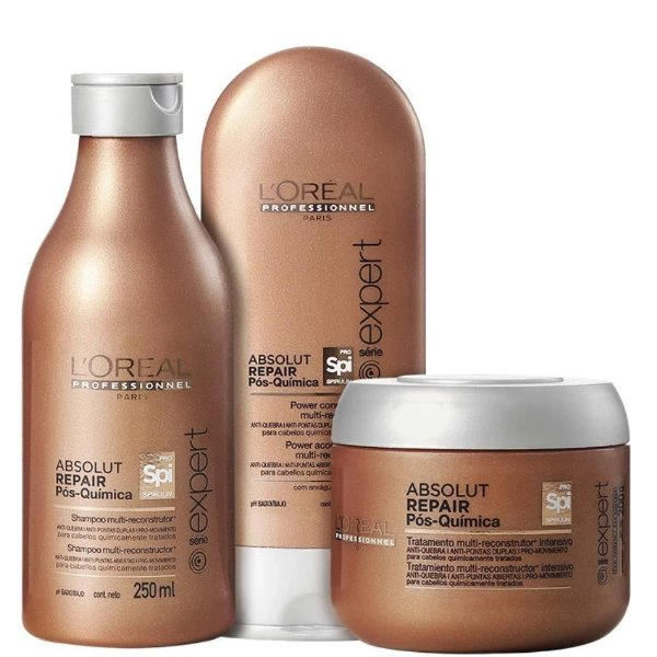Kit L'Oréal Absolut Repair Pós-Química Multi-reconstrutor