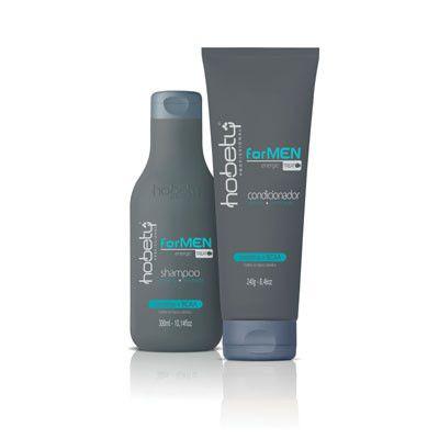 Kit Hobety For Men - Shampoo 300 ml + Condicionador 240 g