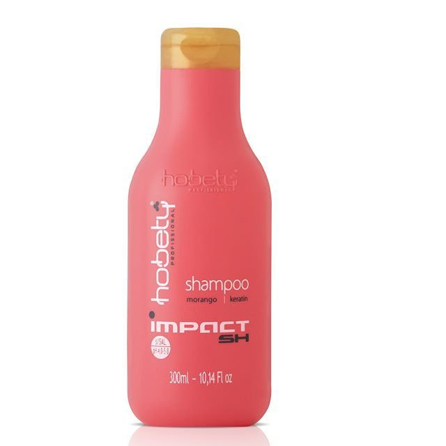 Shampoo Hobety Morango Impact Hidratação