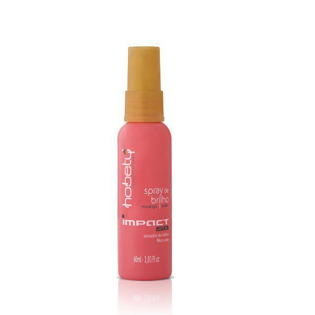 Spray de Brilho Hobety Morango Impact 60ml