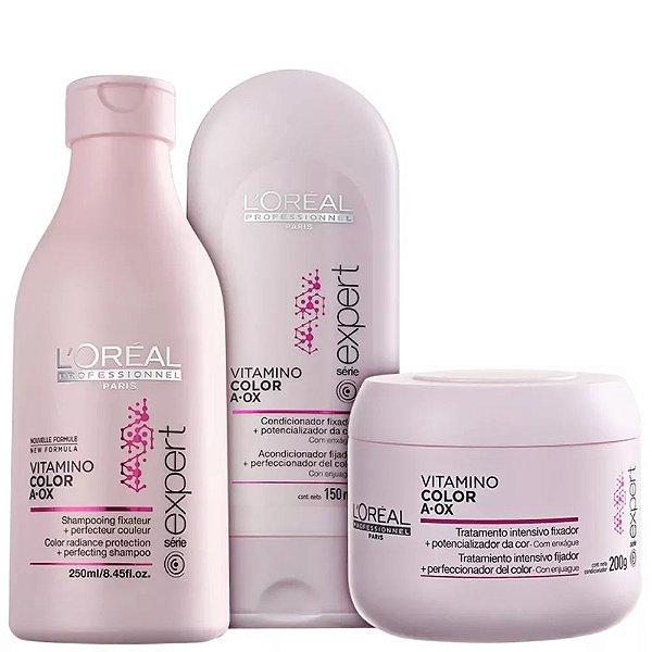 Vitamino Color A.OX Trio L'Oréal Professionnel Kit (3 Produtos)