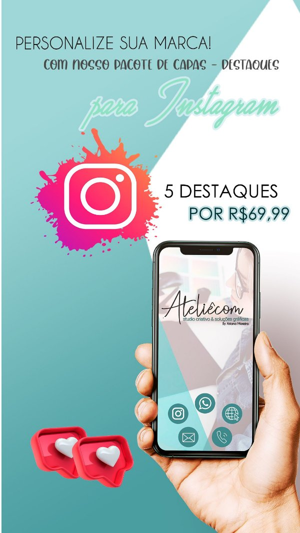 CAPAS DO INSTAGRAM