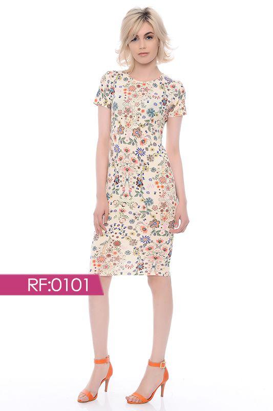 VESTIDO BOLONHA - vestido floral - RF:0101
