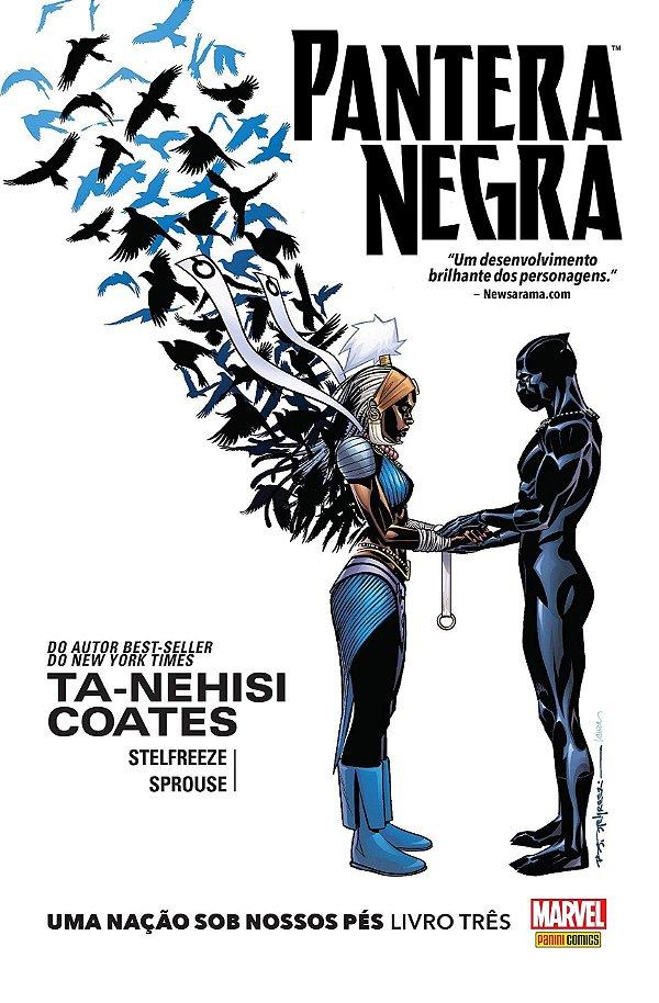 Pantera Negra. Uma Nação Sob Nossos Pés - Livro Três - Português Capa dura – 20 de dezembro de 2017