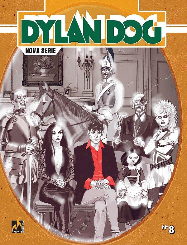 Dylan Dog Nova Série - vol. 8: Os fantasmas protetores Português - Capa Brochura – 12 de dezembro de 2019