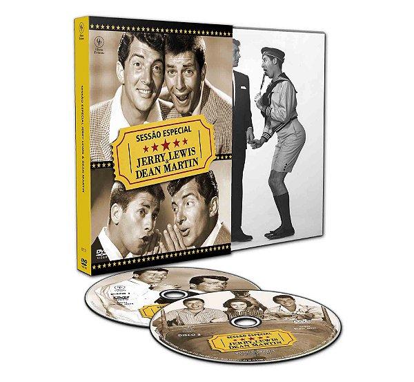 SESSÃO ESPECIAL JERRY LEWIS & DEAN MARTIN - COM 2 DVDS