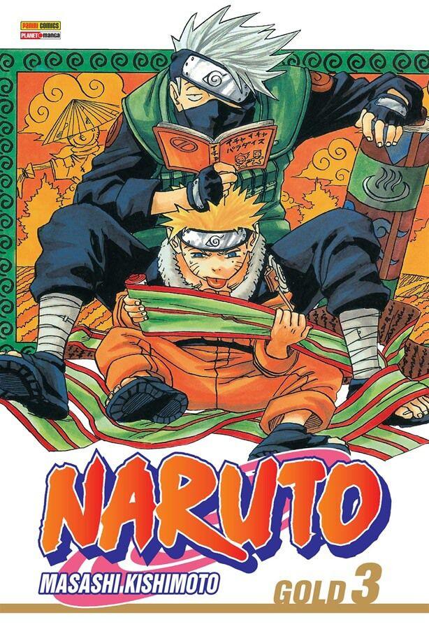 NARUTO GOLD 3 - DE MASASHI KISHIMOTO 13 DE OUTUBRO DE 2020