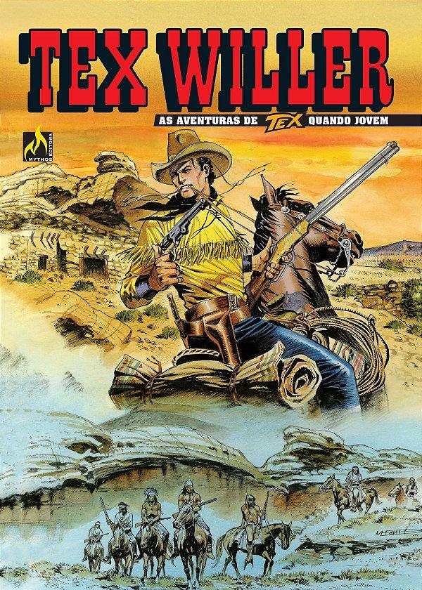 Tex Willer Nº 02: A quadrilha de Red Bill Capa Brochura 18 De fevereiro De 2019