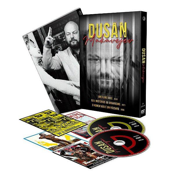 Dusan Makavejev Luva com 2 DVD's  ENTREGA A PARTIR DE 30/07/2021