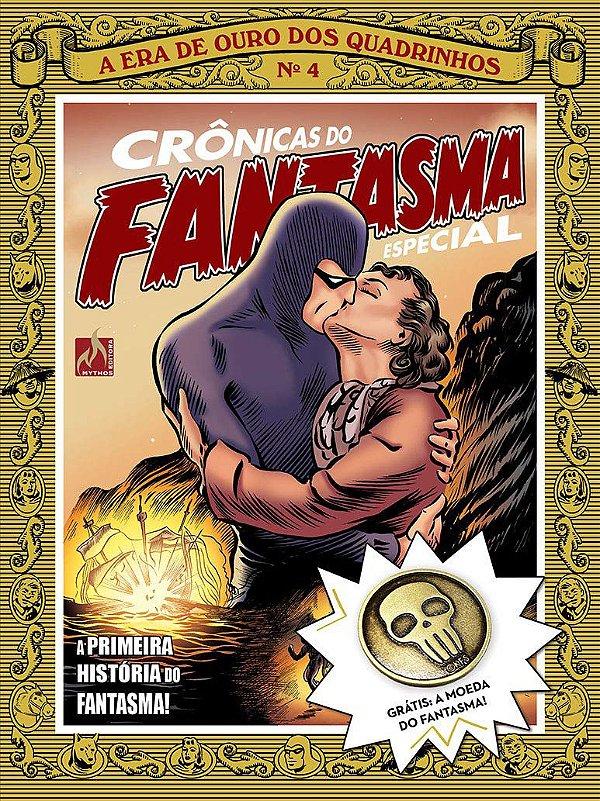 Crônicas do Fantasma - volume 4  Edição Especial Com Brinde! Capa Brochura 31 De Março de 2018