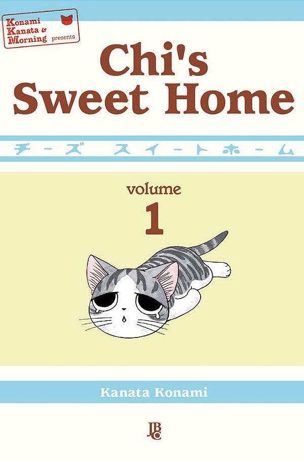 Chi's Sweet Home - Vol. 1 Capa Brochura  10 de Maio de  2021