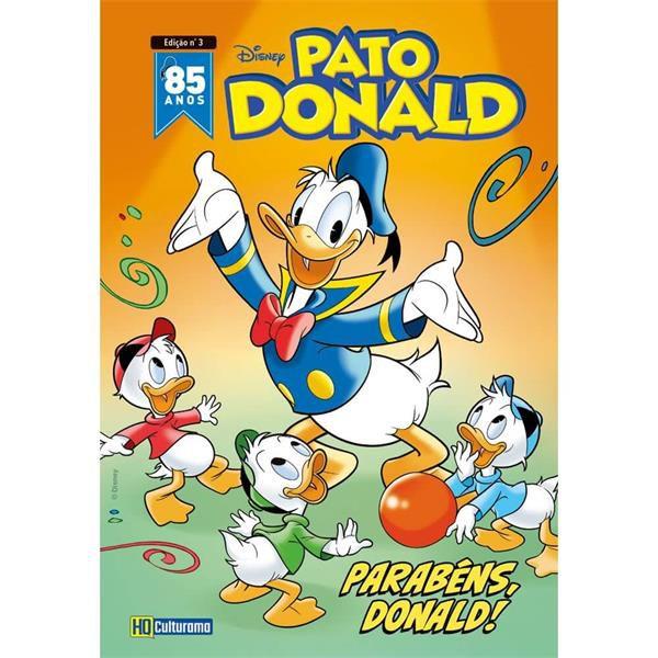 PATO DONALD EDIÇÃO 3 - 85 ANOS JULHO 2019