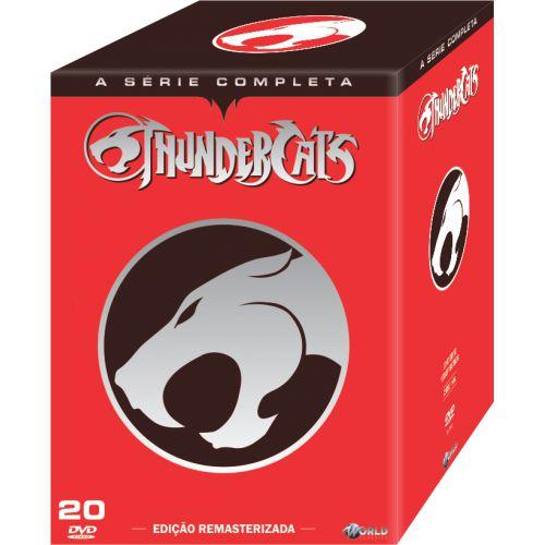 THUNDERCATS - A Série Completa - Digibook - 20 Discos