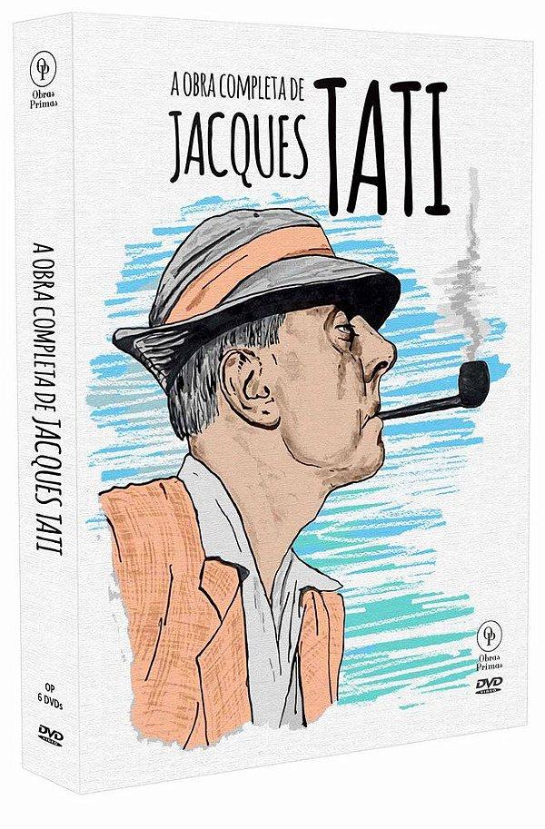 A OBRA COMPLETA DE JACQUES TATI (DIGIPAK COM 6 DVD'S)