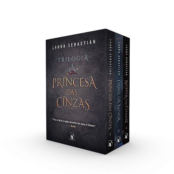 Box Trilogia Princesa das Cinzas Capa  Brochura  20 De  agosto De  2021
